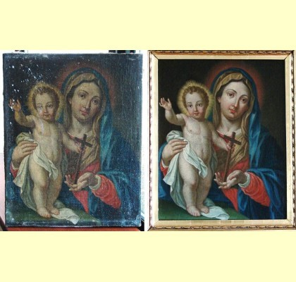 painting restoration Dublin Ireland
