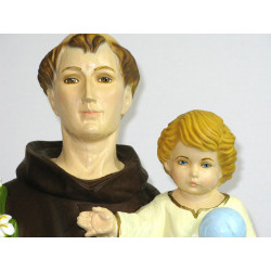Statue of Saint Anthony with child