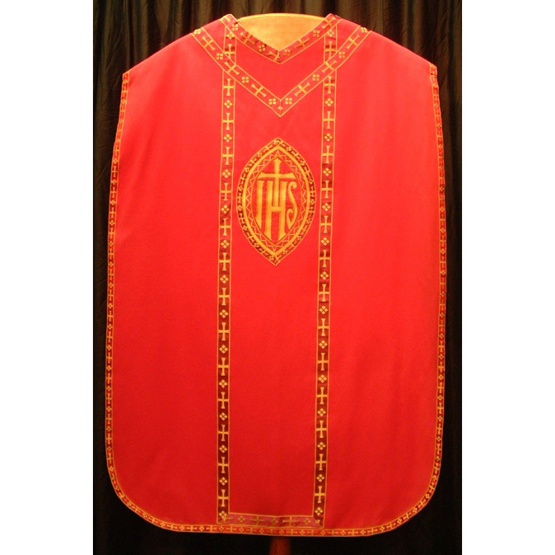 Red Vestment IHS