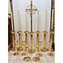 wonderful Altar candlestick set