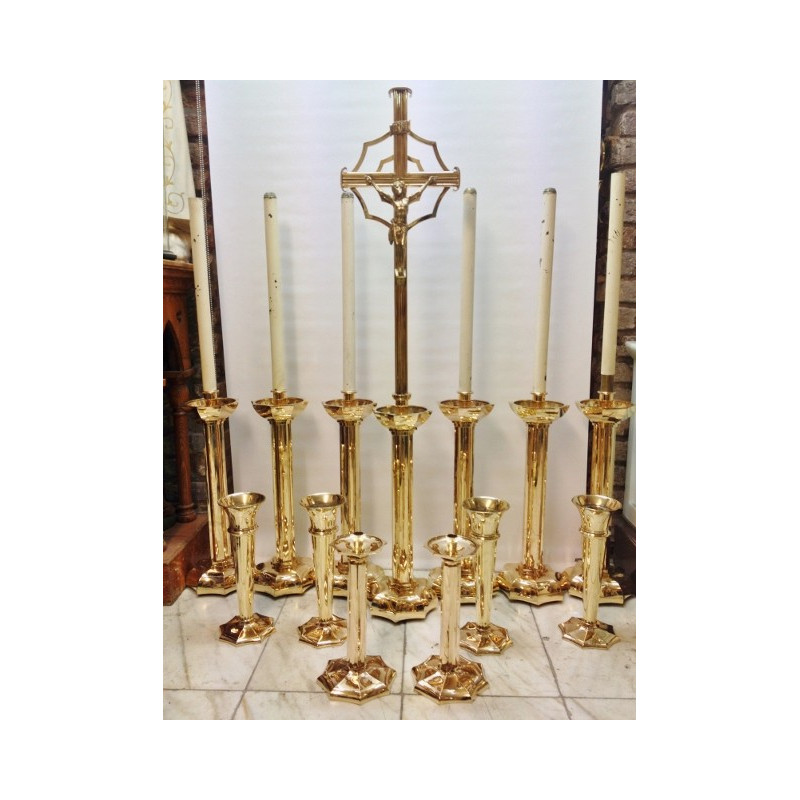 wonderful Altar candlestick set
