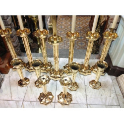 Quility Altar candlestick set