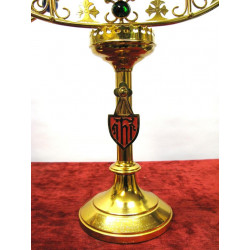 Church jeweled candlesticks
