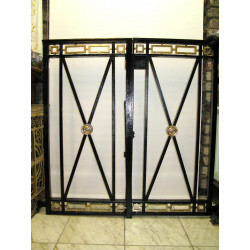 Baptismal enclosure gates
