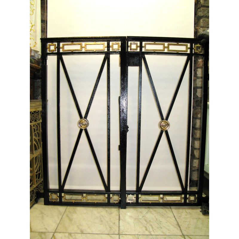 Baptismal enclosure gates