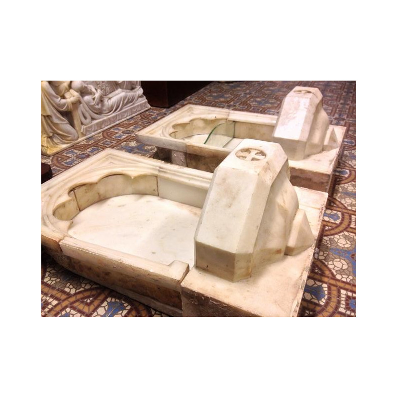 Gothic Marble wall water fonts