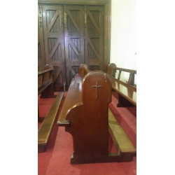 5 Long church pews