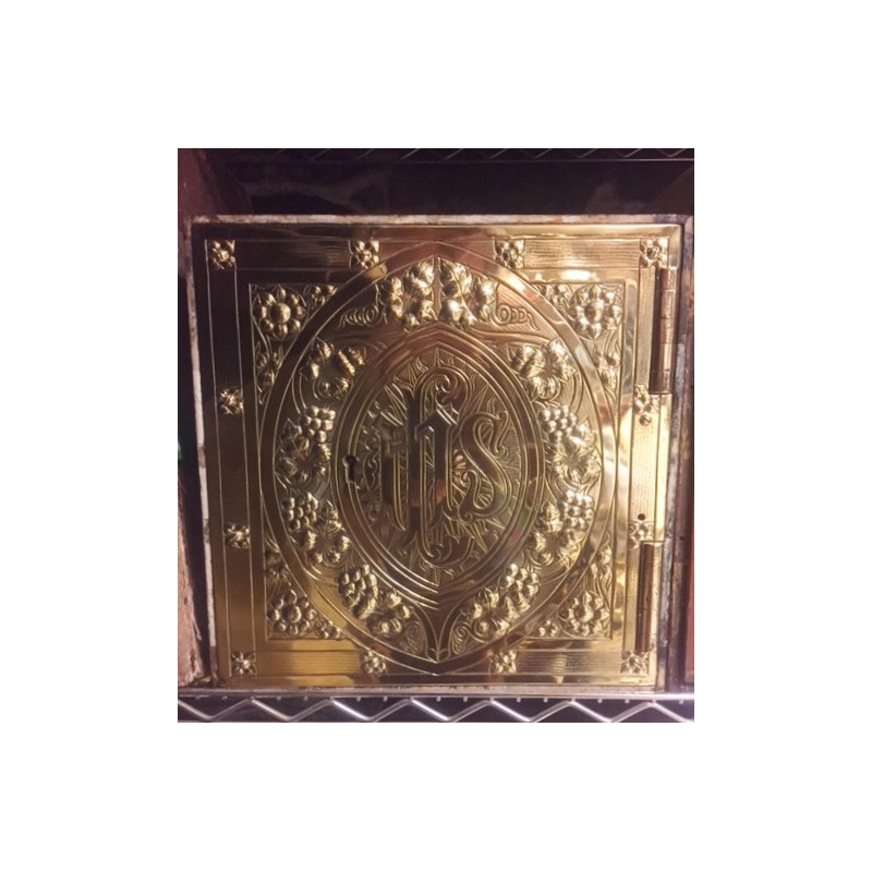 Gothic brass tabernacle
