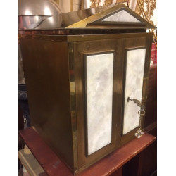 Brass and white Mable tabernacle