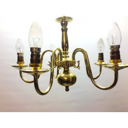 Pair of dutch ceiling lights