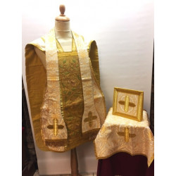 Cloth of gold and white Vestment
