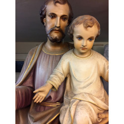 5 'St Joseph and child Statue