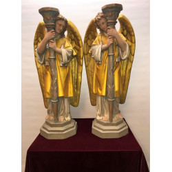 A pair of Altar angels
