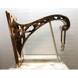 Large sanctuary lamp wall bracket