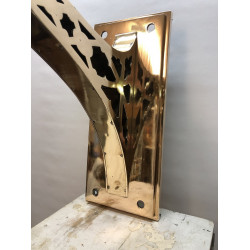 Large sanctuary lamp wall bracket