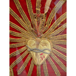 Framed Red vestment
