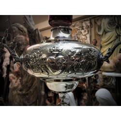 Silver sanctuary lamp
