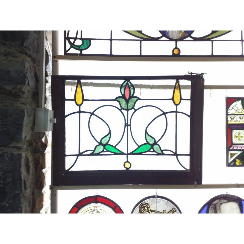4 Glass panells