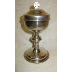 Irish Silver Ciborium