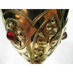 Gold Gothic Chalice