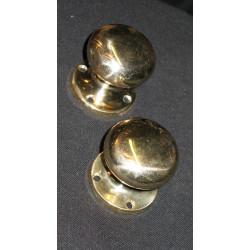 Brass round handles large