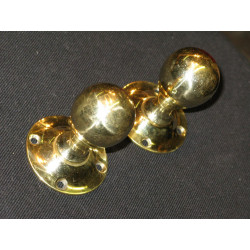 Brass drop handles