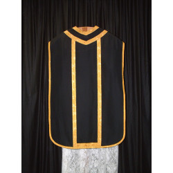 Black roman vestment