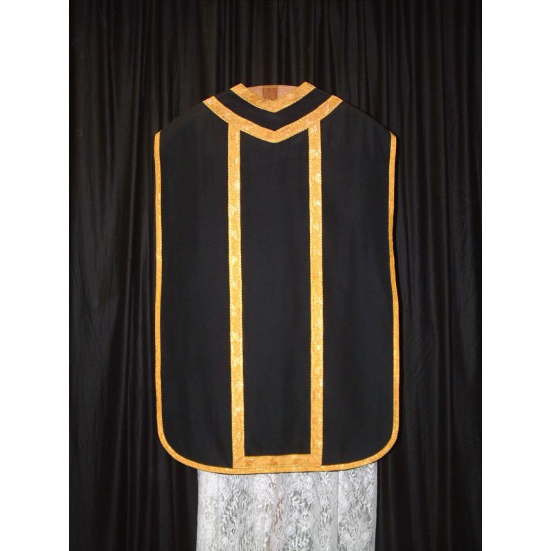 Black roman vestment