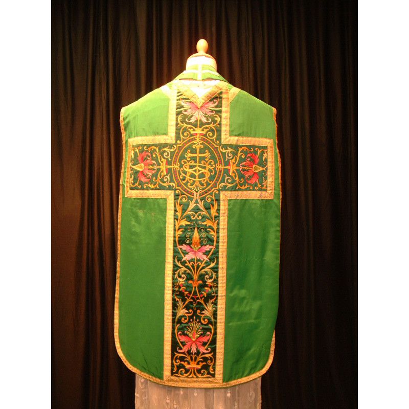 Beautiful green chasuble