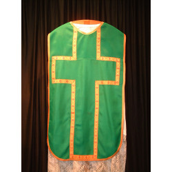 Emerald Green vestment and stole
