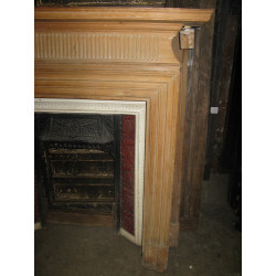 A Pair of Pine Fire Places