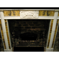 A Pair of Sienna fire surrounds
