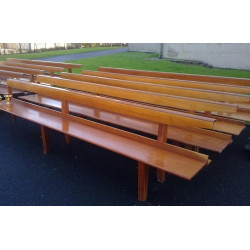 Sets of Mahogany Pews