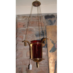 Small Hanging Sanctuary Lamp