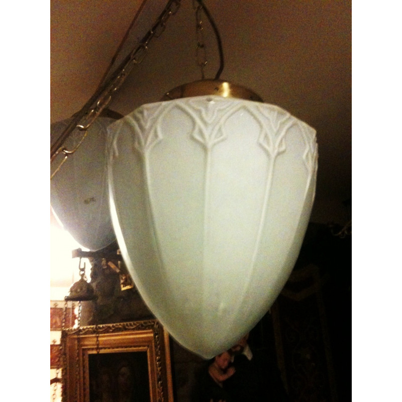 Seven Gothic lamp shades