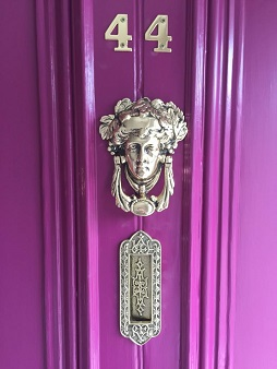 polishing door fittings